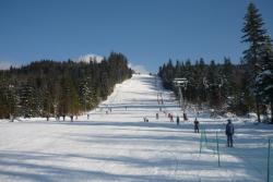 Partia de ski Borsec