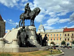 Atractie Turistica - Piata Unirii - Cluj Napoca - Centru Turistic