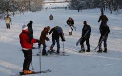 Atractie Turistica - Partie de ski Sararie - Iasi - Centru Turistic
