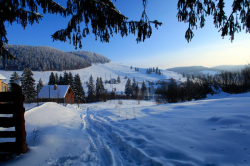 Atractie Turistica - Partia de schi - Izvorul Muresului - Centru Turistic