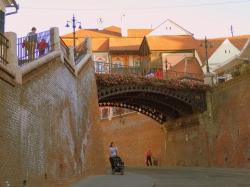 Atractie Turistica - Pasajul scarilor - Sibiu - Centru Turistic