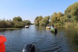 Atractie Turistica - Canale si lacuri Delta Dunarii - Sulina - Centru Turistic
