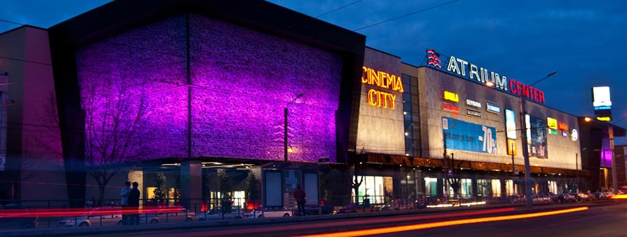 Atractie Turistica - Atrium Mall - Arad - Centru Turistic
