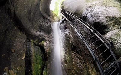 Atractie Turistica - Canionul si Cascada 7 Scari - Brasov - Centru Turistic