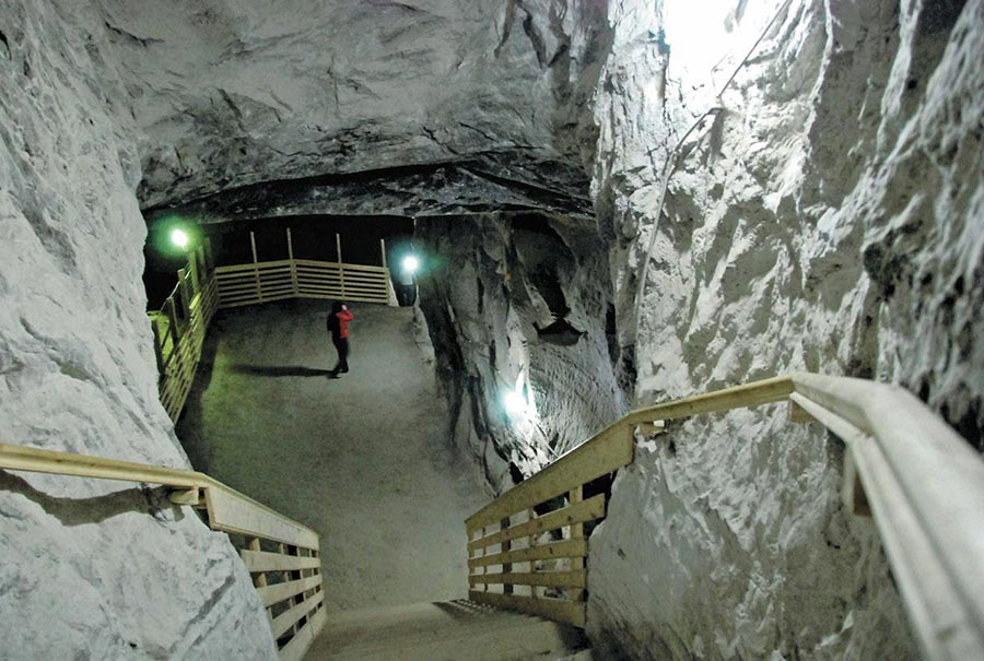 Atractie Turistica - Salina Cacica - Cacica - Centru Turistic