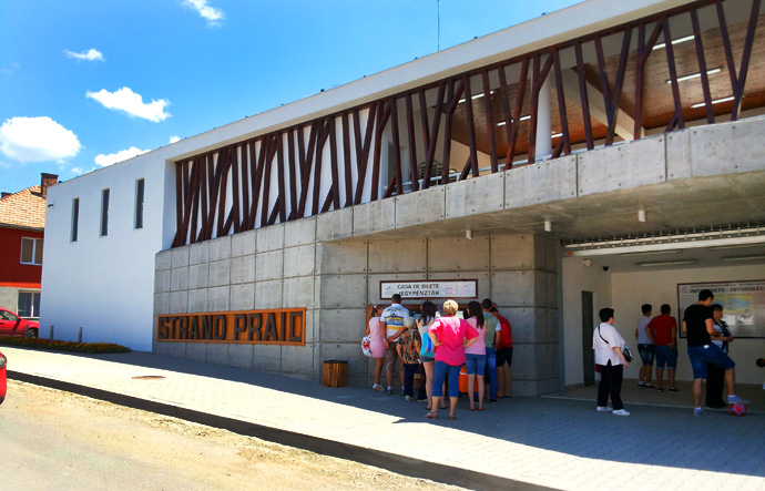 Atractie Turistica - Strandul - Praid - Centru Turistic