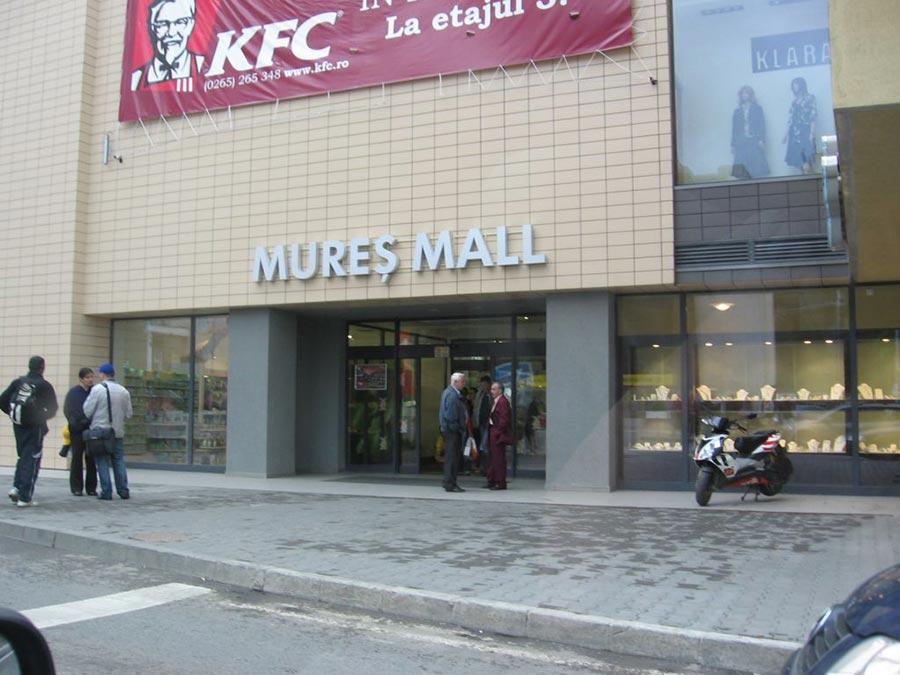 Atractie Turistica - Mures Mall - Targu Mures - Centru Turistic