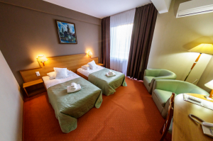 Cazare - Camera dublu twin - Hotel Rivulus - Baia Mare